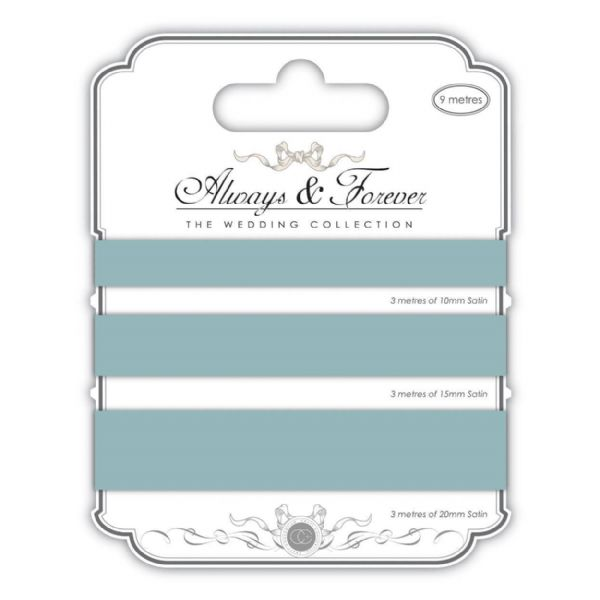 Always & Forever Satin Ribbons - Duck